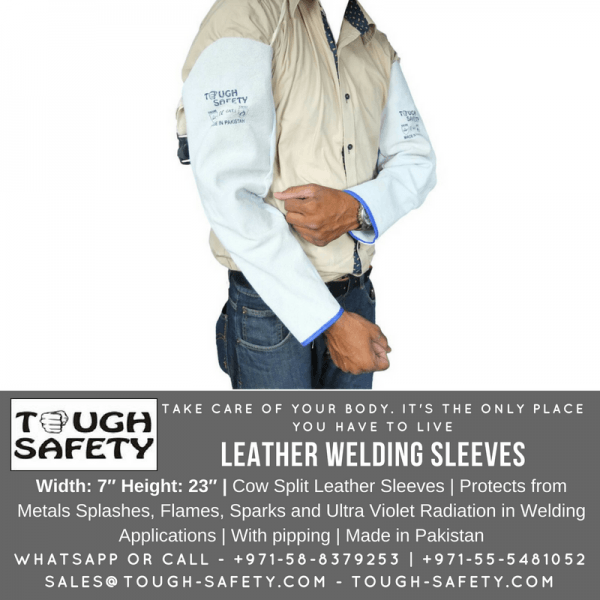 LEATHER HAND SLEEVES