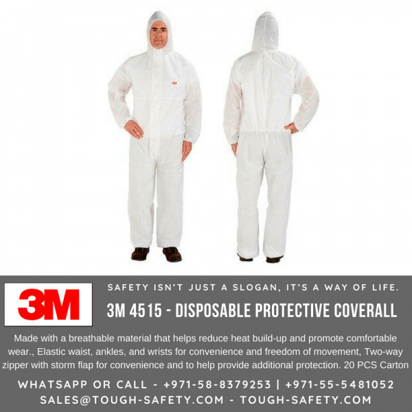 3M 4515 Disposable Coverall