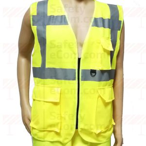 EXECUTIVE SAFETY VEST YELLOW