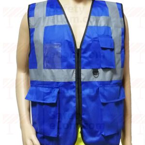 EXECUTIVE SAFETY VEST BLUE