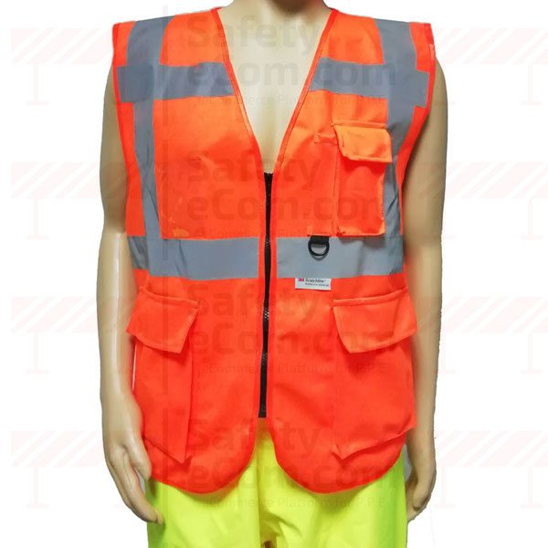 3M Executive Safety Vest in Orange Color