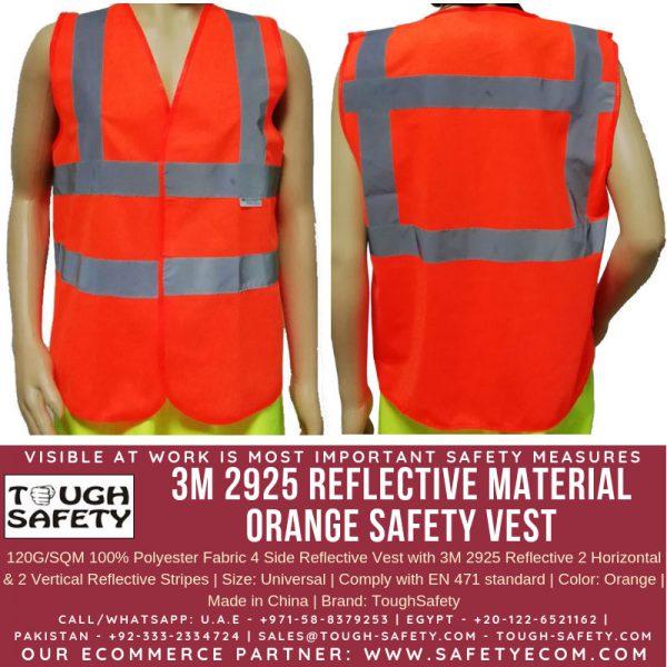 3M Orange Safety Vest