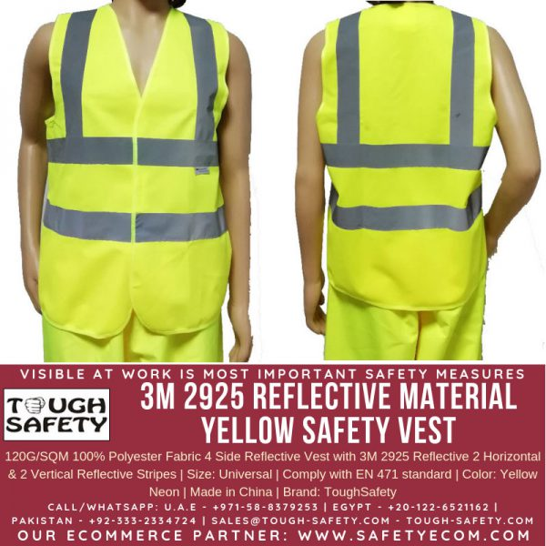 3M Yellow Safety Vest
