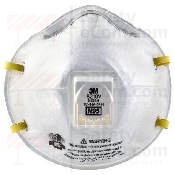 Respirator 3m N95 8210v Particulate