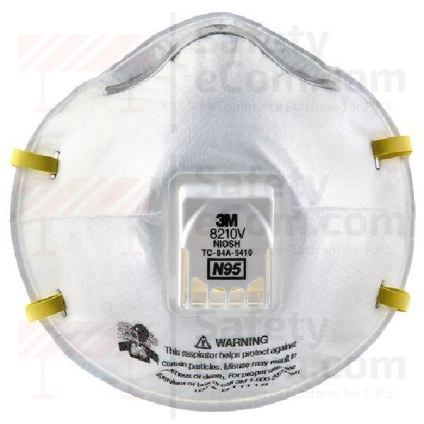 N95 8210v 3m Particulate Respirator