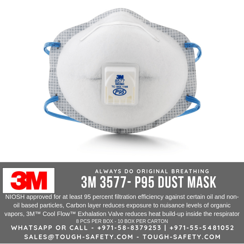 Organic P95 Respirator Vapor 8577 With Particulate Level Relief 3m Nuisance