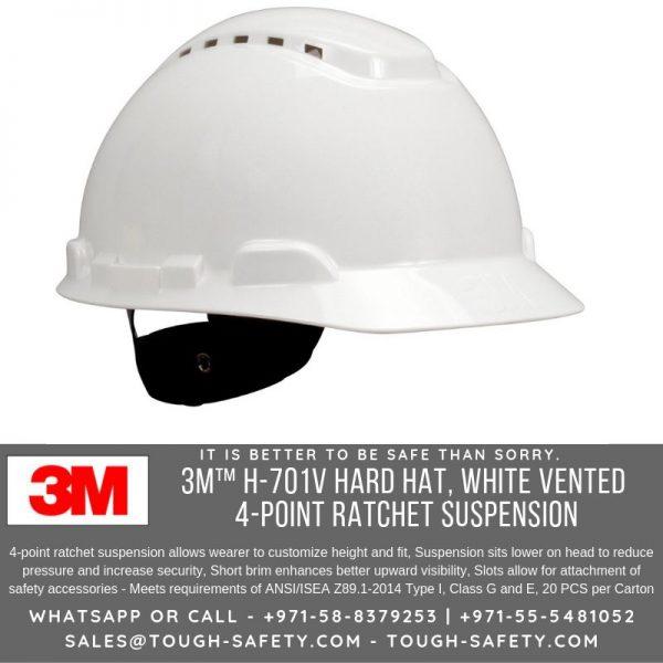 701V White Safety Helmet