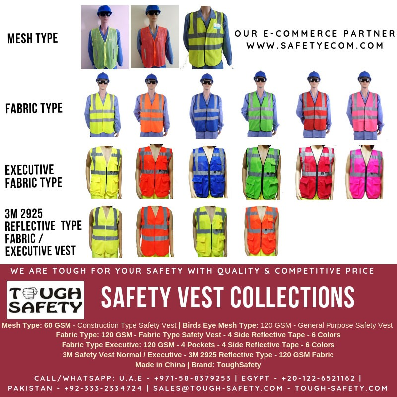 ToughSafety Vest Collection