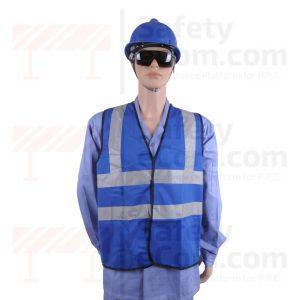 Hi Viz Safety Vest/Jacket - Blue Color