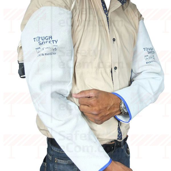 ToughSafety Leather Welding Sleeves