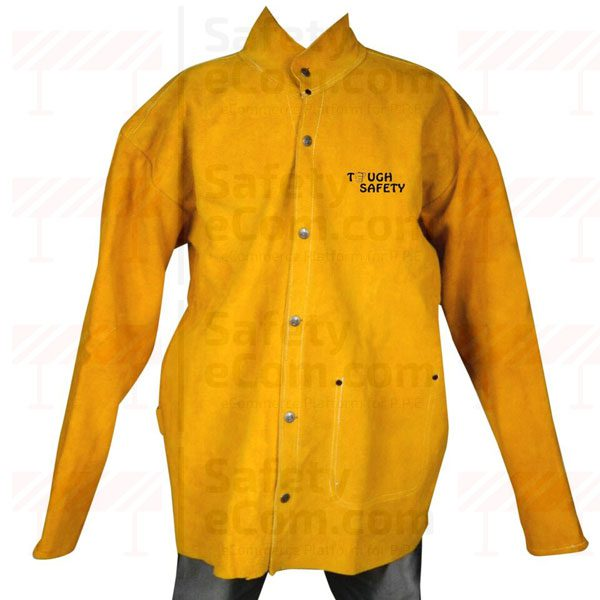 ToughSafety Premium Leather Jacket