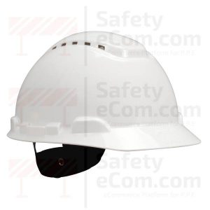 3M 701V - Vented - White Safety Helmet