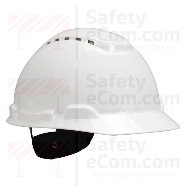 3M 701V - Vented - White Safety Helmet