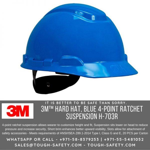 3M 703R Blue 3M Safety Helmet
