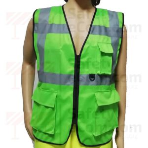 Hi Viz Executive Safety Vest - Green Color