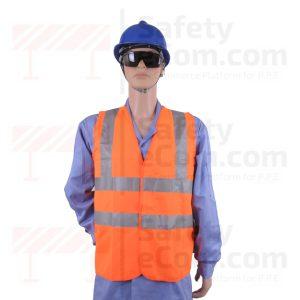 Hi Viz Safety Vest/Jacket - Orange Color